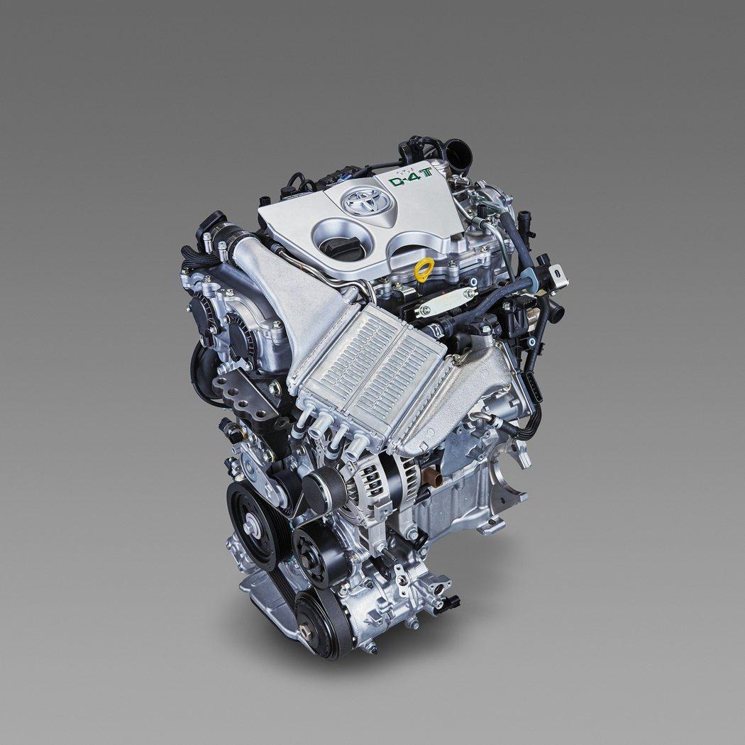 1.2L 8NR-FTS直噴渦輪增壓引擎。 圖/TOYOTA提供