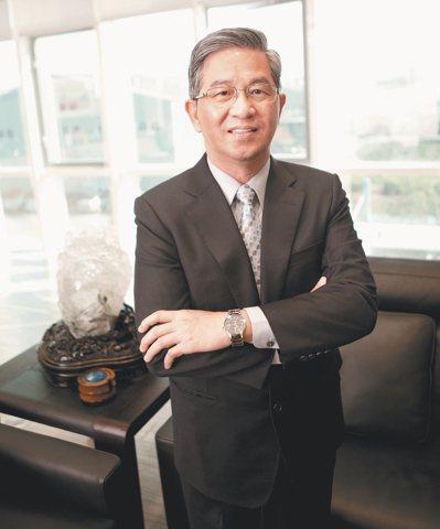 薛長興總經理薛敏誠。 報系資料照
