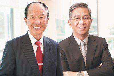 薛長興董事長薛丕拱(左)、薛長興總經理薛敏誠(右)。(合成設計) 報系資料照