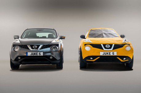Nissan Juke五周年紀念 打造等比例摺紙車款