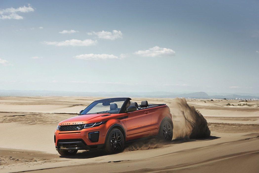 Range Rover Evoque Convertible依然能滿足車主上山下...