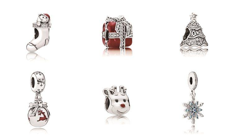 PANDORA冬季聖誕系列-聖誕串飾。圖/PANDORA提供