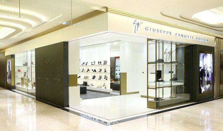 Giusppe Zanotti Design在微風信義開設新店。圖/GZD提供