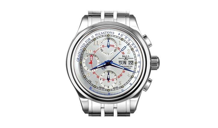 波爾錶自動上鍊脈象表,限量250只,價格94,200元。圖/BALL提供