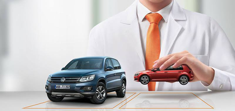 為車齡在5年以上的中古車推出Volkswagen經濟型零件,該類品項通過Volk...