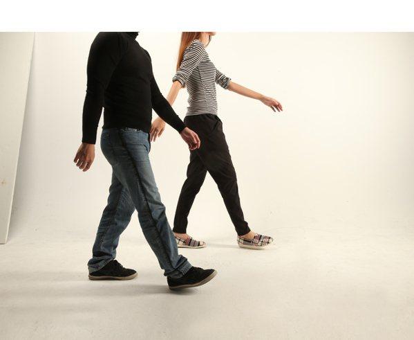 健走是適合各個年齡層的溫和運動,聽來很簡單,要持續卻不容易。 圖╱本報資料照片