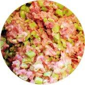 四季豆牛肉餃
