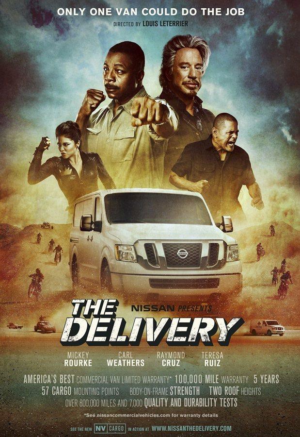 北美NISSAN為商用車拍了一部硬漢風格的微電影The Dilivery。 圖/...