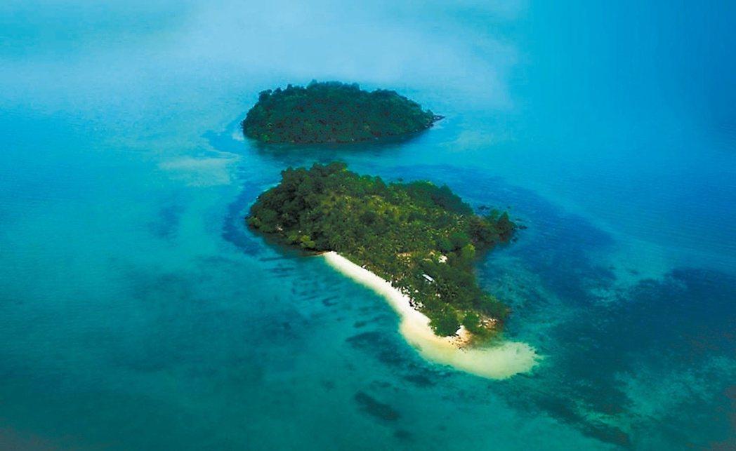 航向無人小島,是不少包機客喜歡的體驗。 圖/雄獅旅遊提供