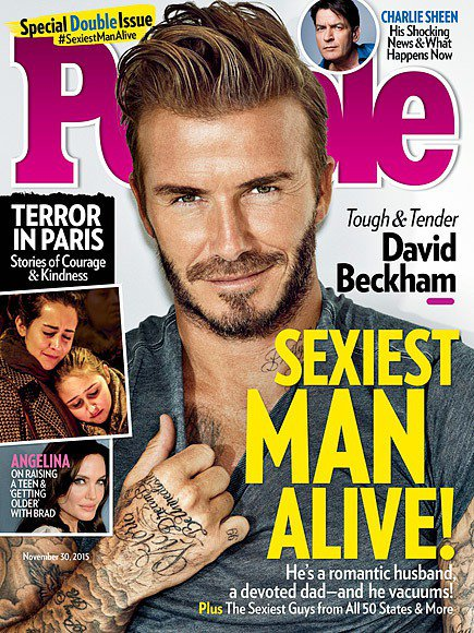 最新公布的2015年時人雜誌全球最性感男人票選,獲得冠軍,擠下去年的雷神索爾克里...