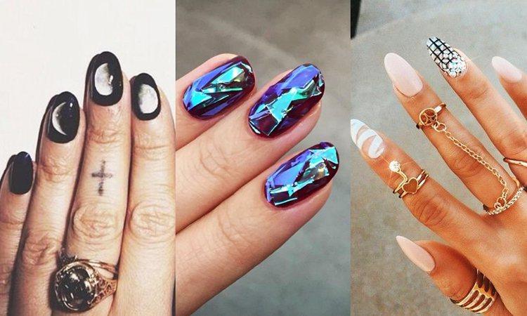 就是要帥氣一點點!My perfect nails。圖/擷自weheartit、...