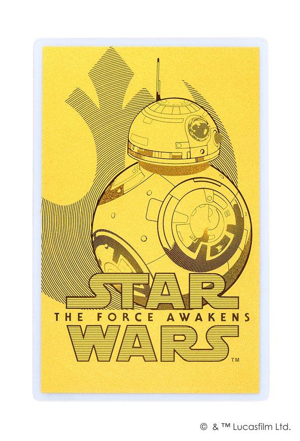 「星際大戰」系列BB-8特別版紀念金卡