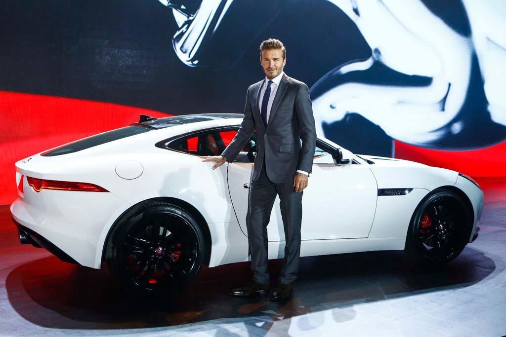 足球金童貝克漢(David Beckham)擔任英國豪華車Jaguar的大中華區...