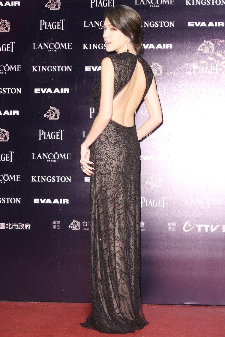 許瑋甯穿Jason Wu禮服,配戴卡地亞珠寶。圖/攝影中心