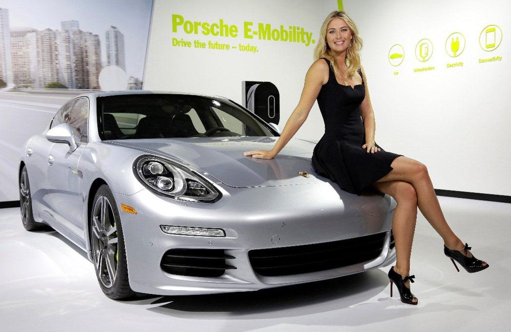 Maria Sharapova長期為保時捷品牌大使。 永業提供