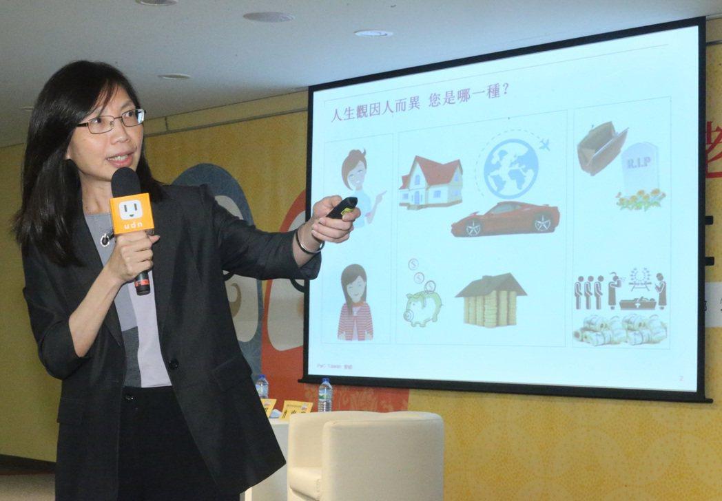 資誠會計師事務所副所長曾惠瑾。 記者蘇健忠/攝影