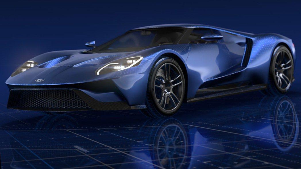 福特3D列印網路商店提供車迷訂購GT等車款列印型。