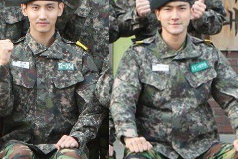 Super Junior始源與東方神起的昌珉上周低調入伍後,兩人在軍營中的照片現在也曝光了!只見使源與同袍們一起合照霸氣的坐姿,被粉絲稱讚這是會長的等級,而昌珉與其它新兵一同合照時,剛坐在前排正中央...