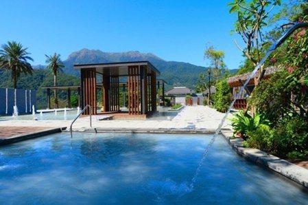 擁有全國最大2000坪露天風呂的天籟渡假酒店。