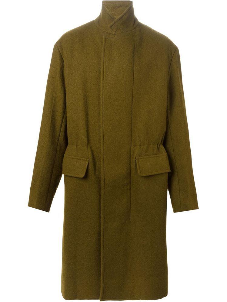軍綠色毛料大衣,價格53,000元。圖/3.1 Phillip Lim提供