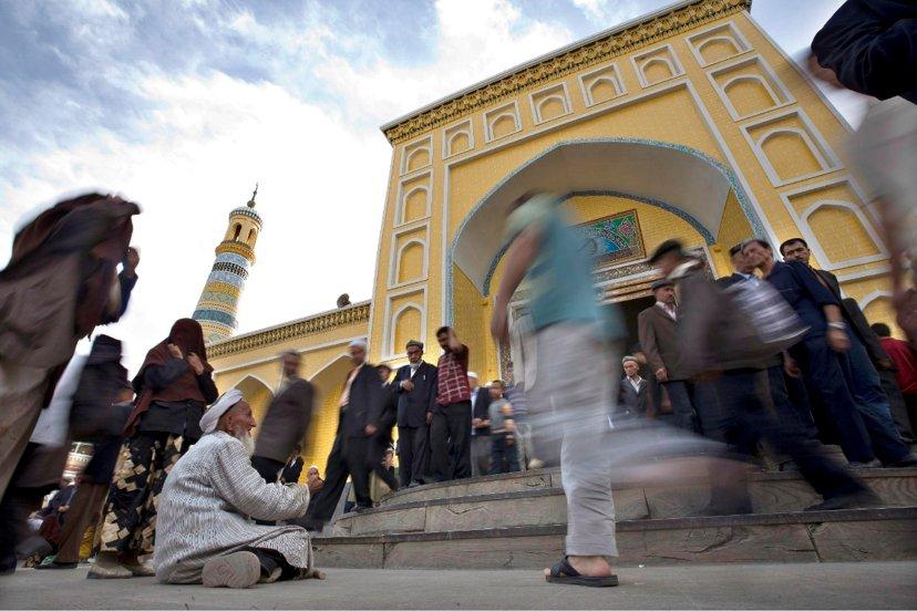 伊斯蘭化的新疆畫分出滿漢與維族之間最大的歧異點。圖/歐新社
