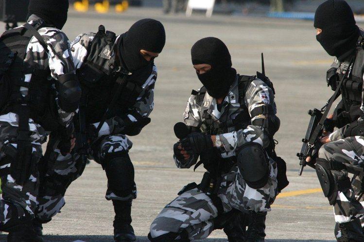 陸軍特勤隊。 圖/聯合報系資料照片
