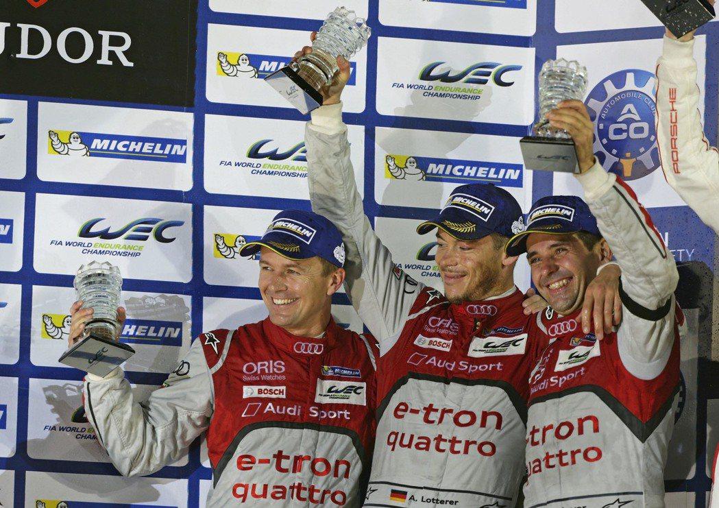 2015年FIA WEC世界耐力錦標賽由2012年首屆車手總冠軍團隊Marcel...