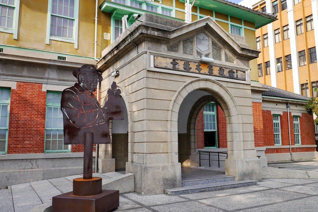 雲林布袋戲館的建築物本體,建造於西元1931年。 記者陳威任/攝影