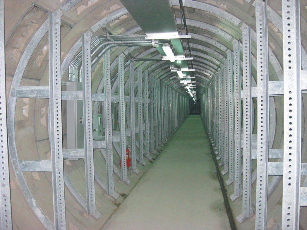 育強科技產品應用在地下電纜隧道。 育強/提供