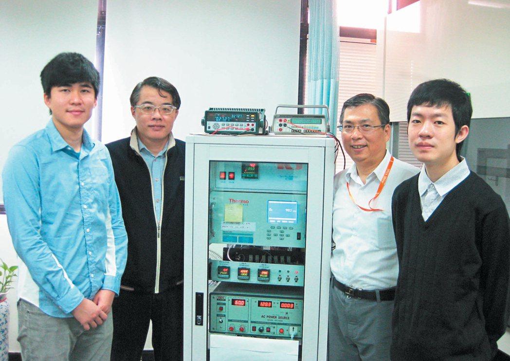 育強科技與台北科技大學產學合作。 育強/提供