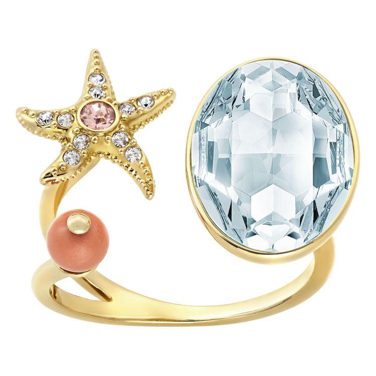 Eponym戒指,4,490元。圖╱施華洛世奇提供