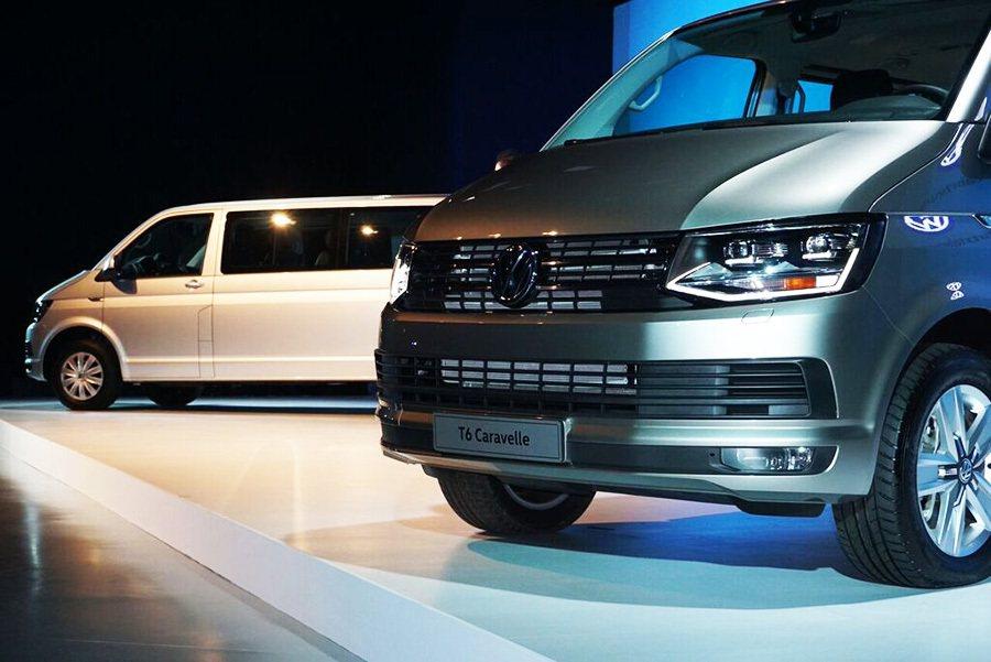 T6 Caravelle滿足商務買家與重視戶外休閒生活的智慧買家對於商旅車的期待。 攝影/Irene Tseng