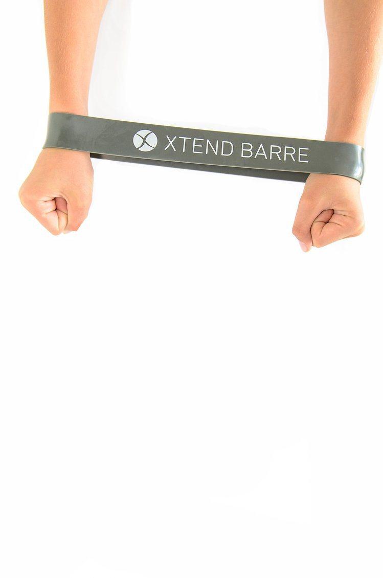 健身彈力帶,價格約400元。圖/Xtend Barre提供