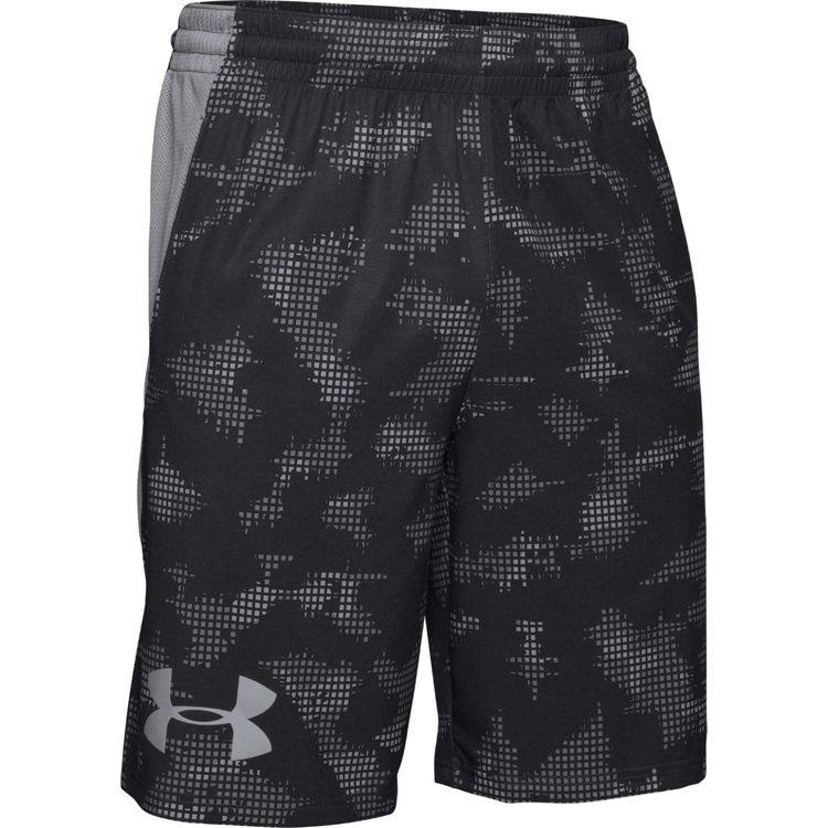 男用10吋訓練印花短褲 ,價格1,580元。圖/UNDER ARMOUR提供
