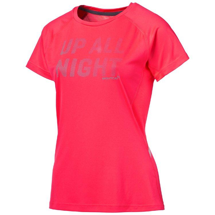 Nightcat系列,女用訓練短上衣。圖/PUMA提供