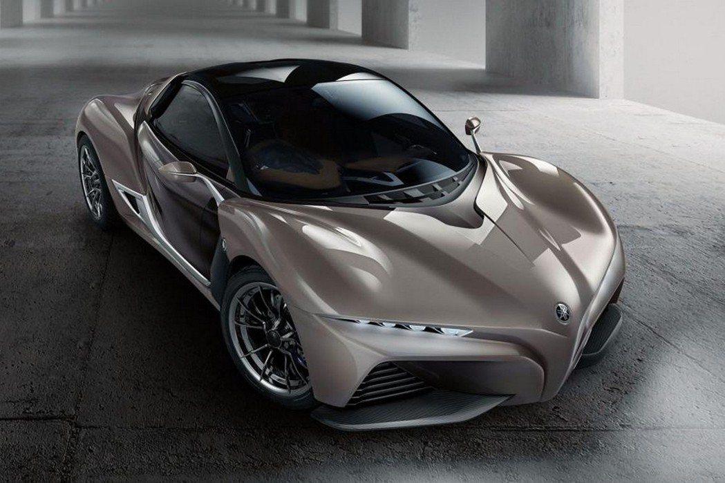 車格大小與Lotus Elise相近,同樣為小巧低扁設計。 摘自Yamaha.c...