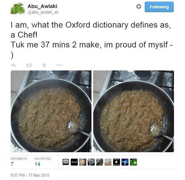「我本人——根據《牛津字典》的定義解釋——就是「小當家」!花惹我37分鐘來煮飯,...