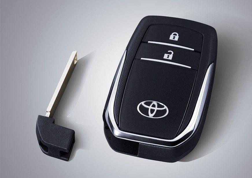 即便是鑰匙也精心打造。 摘自toyota.id
