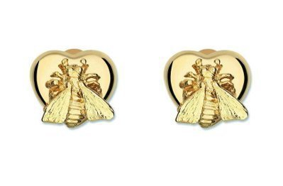 Le Marche des Merveilles(奇蹟市集)18K黃金蜜蜂耳環,...