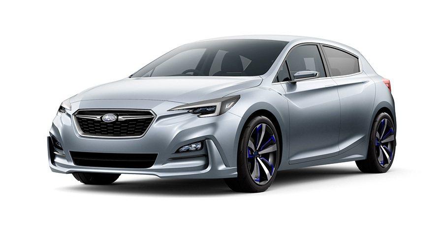 IMPREZA 5-Door Concept概念車 Subaru提供