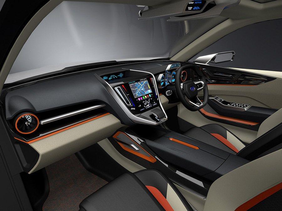 IMPREZA 5-Door Concept概念車內裝 Subaru提供