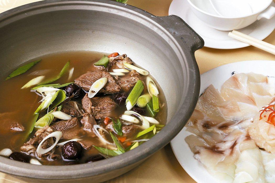 鮮魚羊肉鍋