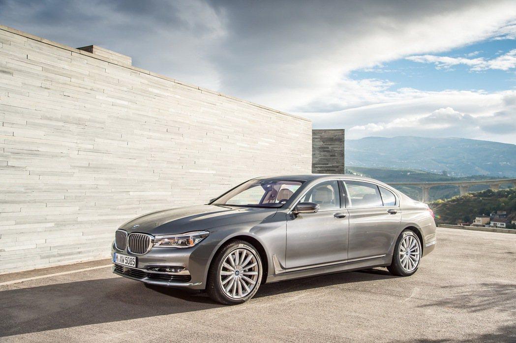 全新BMW 7系列豪華旗艦房車。 圖/汎德提供