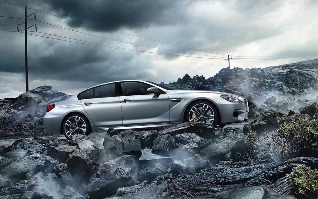 BMW M6 Gran Coupe。 圖/汎德提供