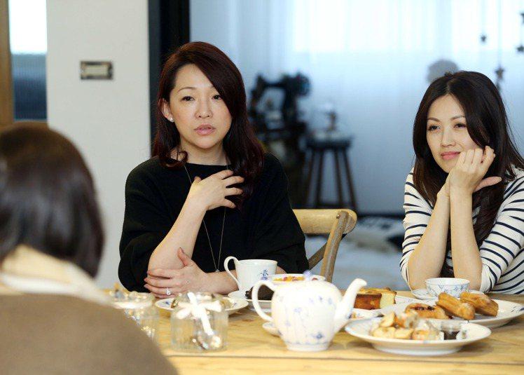名人居家林家岑(左)。記者陳瑞源/攝影