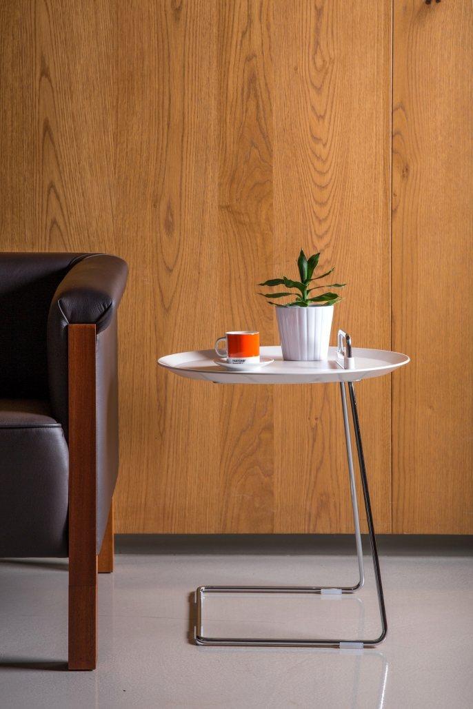 達摩工坊「PORTER 邊桌茶几」。圖/U-Design提供