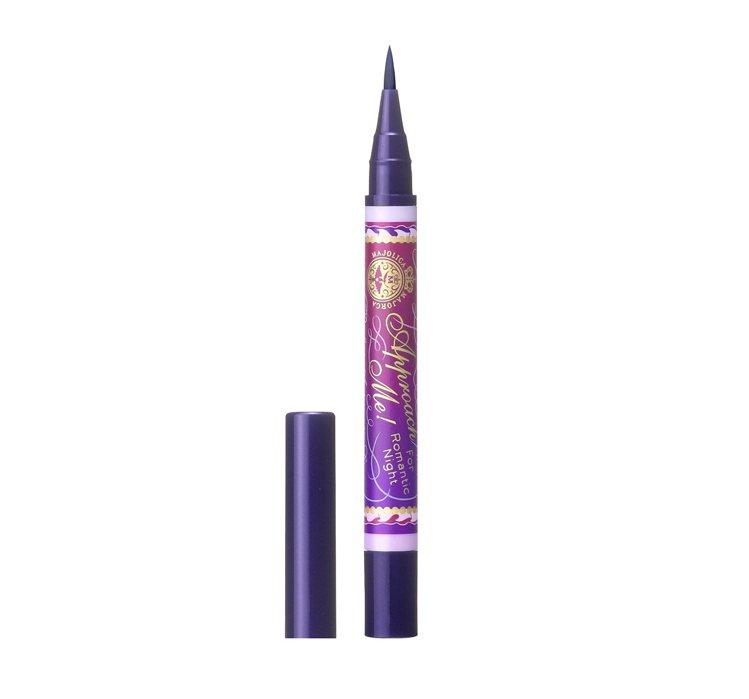 戀愛魔鏡新魔法之露眼線液濃烈進化版的季節限定紫黑色調,神秘誘人。圖/戀愛魔鏡提供