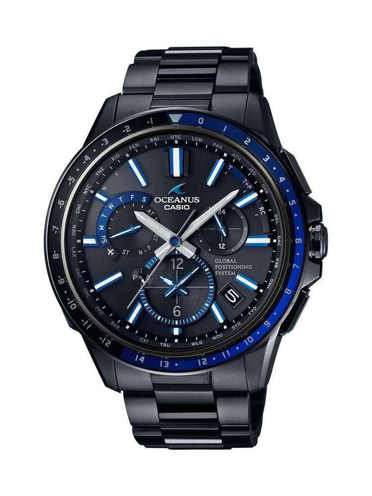 CASIO OCEANUS OCW-G1100B-1A腕表,建議售價6萬400...