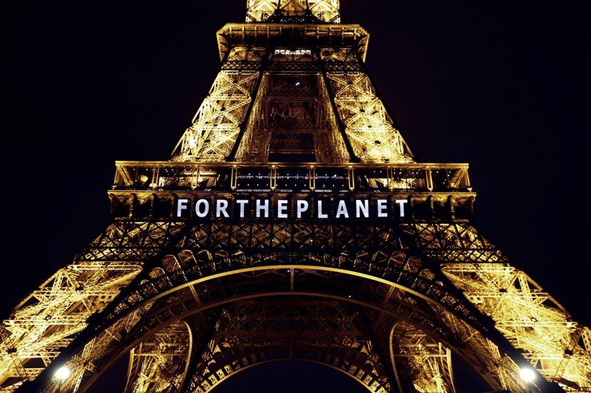「為了這個星球。」 圖/美聯社