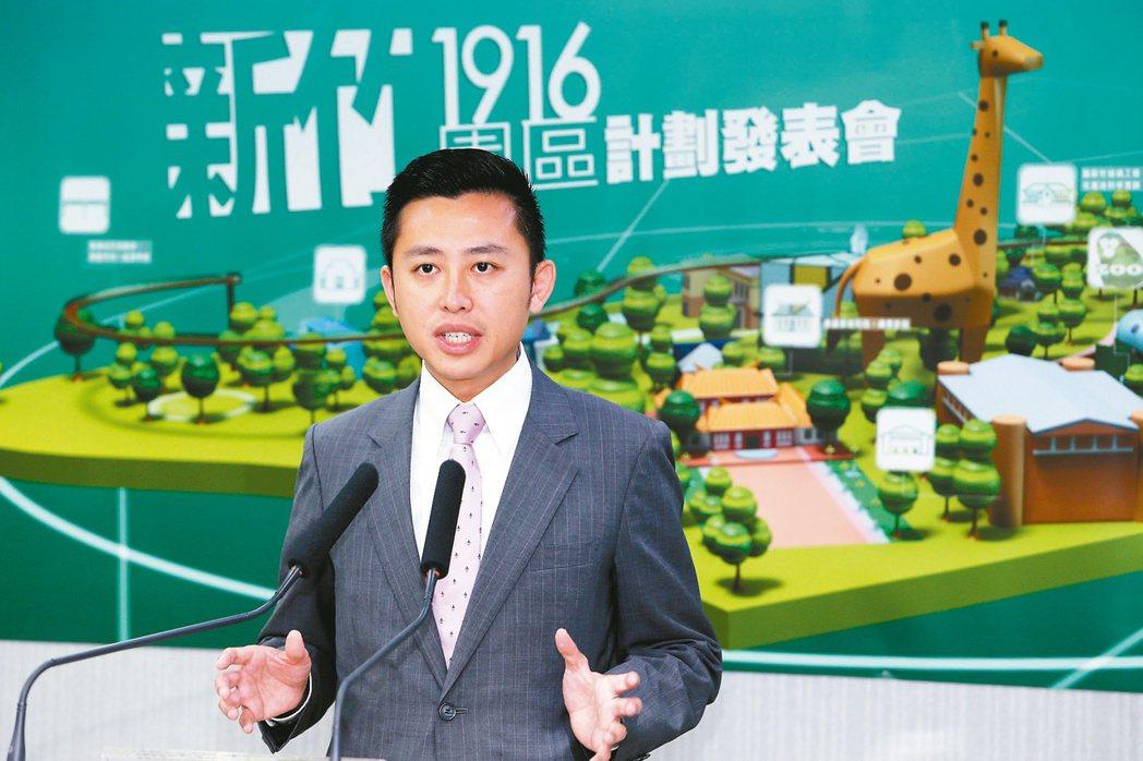 新竹市長林智堅。